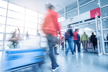 Rush Hour at a global tradeshow