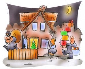 Einbruchserie in der Weihnachtszeit - was vorne reingeschleppt wird, wird hinten wieder rausgetragen