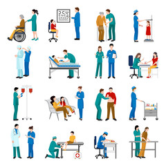 Nurse Icons Set