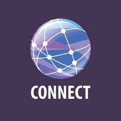 vector logo connect