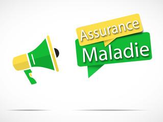 mégaphone : assurance maladie