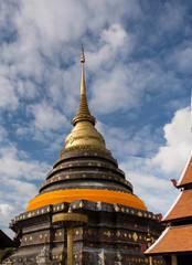 Wat Pra That Lampang Luang in Lampang, Thailand.