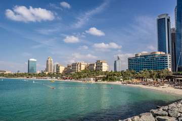 Barasti beach in Dubai
