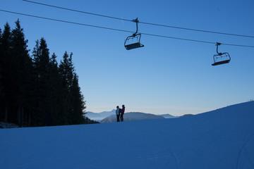Schifahren in Tirol