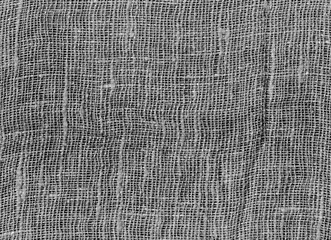 Black and white cotton texture background.