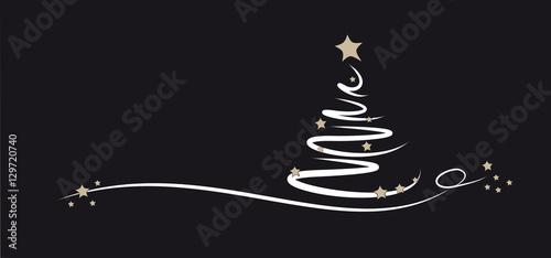 weihnachtsbaum schwarz weiss beige stockfotos und. Black Bedroom Furniture Sets. Home Design Ideas