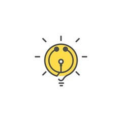 Smart Healthcare Logo Design Element