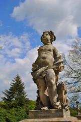Barokowa rzeźba parkowa