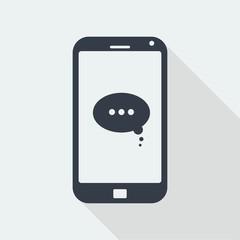 SMARTPHONE FLAT DESIGN, HANDPHONE DESIGN