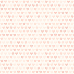 Heart pattern. Vector seamless background