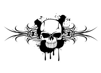 skull and patters