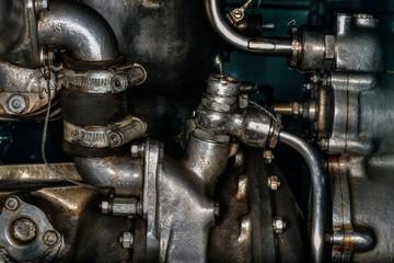 航空機のエンジン