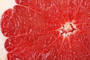 Image of grapefruit close-up. Healthy food. Vitamins.