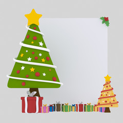 Chrismas Tree Banner.