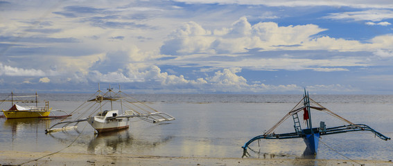 three canoes-sipalay