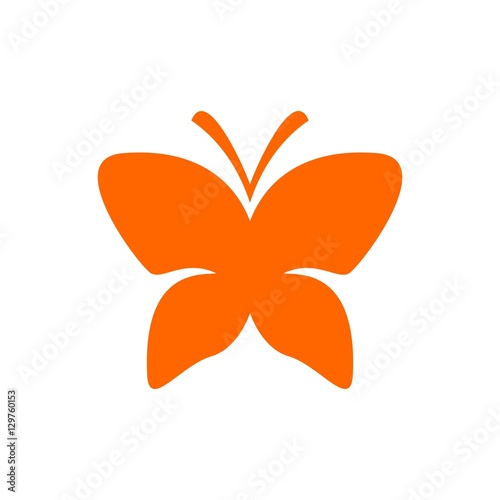 quotbutterfly logo vector butterfly icon freedom symbol