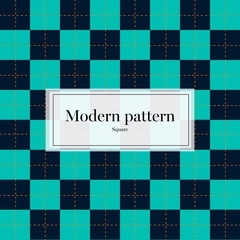 Vector Modern Pattern Square Texture