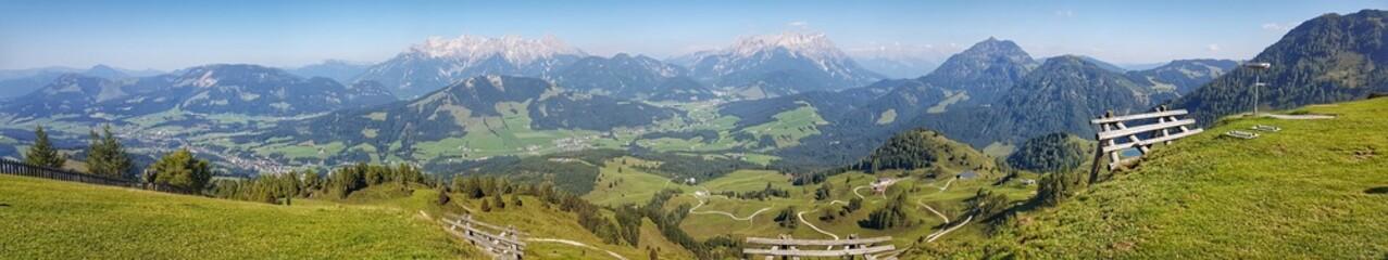 Fieberbrunn, Lawinenschutz - Austria