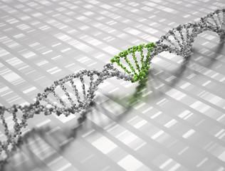 DNA 3D Doppelhelix Hintergrund