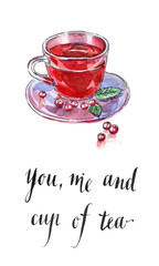 You, me and cup of tea