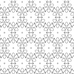 Primitive geometria sacra retro pattern with lines and circles.