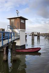 Harbor of Moerdijk in the Netherlands