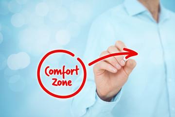 Leave comfort zone