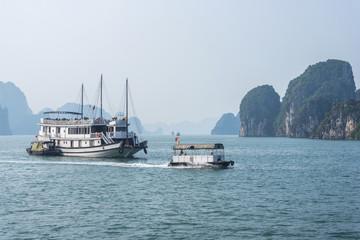 Cruise boat on Halong bay, Vietnam
