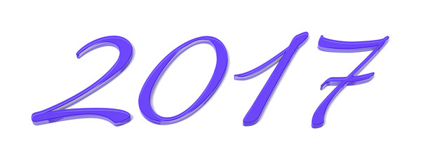 purple happy new year 2017