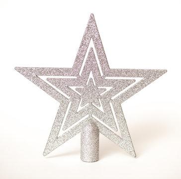 Christmas star on the Christmas tree