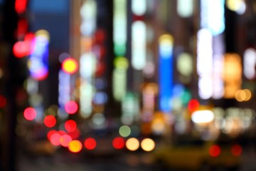 Big city lights - Tokyo blur