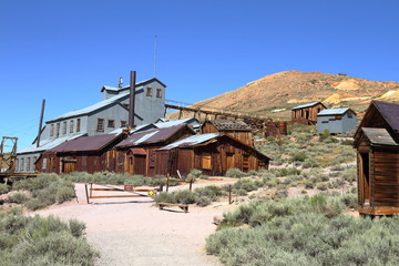 The mine - Bodie Ghost town - California
