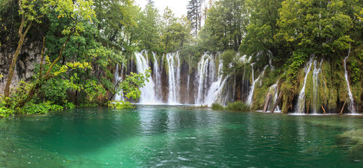 Plivitcka Lakes National Park. Croatia