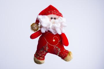 Vintage Handmade Santa Claus Ornament