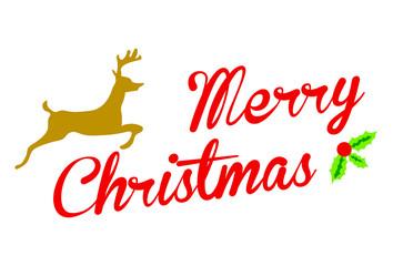 Merry Christmas - Art - Vector