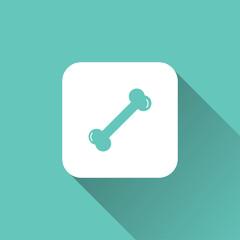 bone sign. icon design