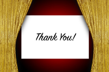 Theatre Screen - Thank You!
