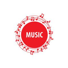vector logo music
