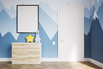 Baby's room with a wardrobe