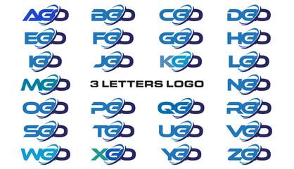 3 letters modern generic swoosh logo AGO, BGO, CGO, DGO, EGO, FGO, GGO, HGO, IGO, JGO, KGO, LGO, MGO, NGO, OGO, PGO, QGO, RGO, SGO, TGO, UGO, VGO, WGO, XGO, YGO, ZGO