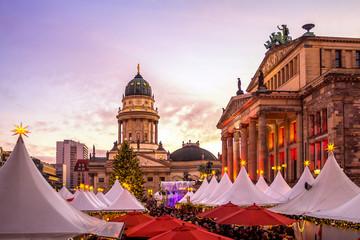 Berlin, Weihnachtsmarkt, Gendarmenmarkt
