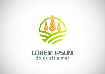 farmland landscape logo