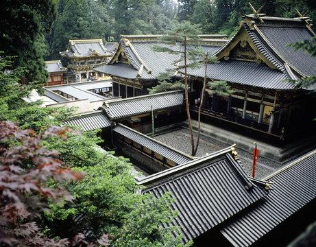Samurai Festival at Toshogu Shrine, site of the mausoleum of Tokugawa Ieyasu, the founder of the Tokugawa shogunate, Nikko, Japan