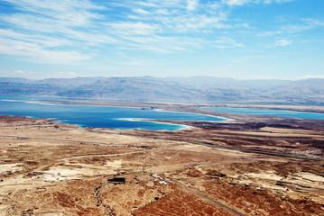 Judean Desert and Dead Sea