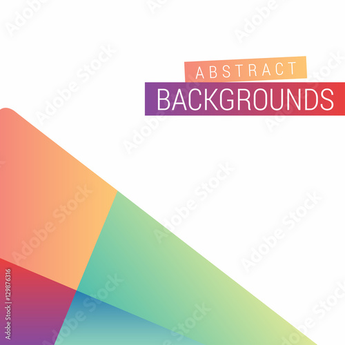 Abstract Modern Design  Play Google Style colorful wallpaper