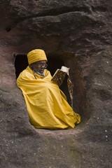 Bet Medhane Alem (Saviour of the World), Lalibela, Ethiopia, Africa