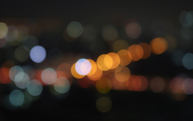 colorful light and blur bokeh