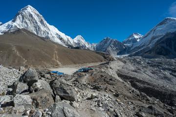 Gorakshep village near Everest base camp, Everest region, Nepal