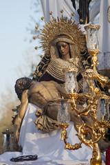 Virgen de la Piedad, semana santa en Sevilla