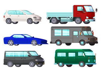 Orthogonal Business Cars Set